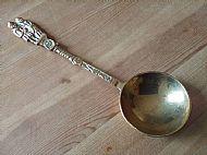 Vintage Welsh Brass Love Spoon