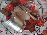 Vintage Brass Mortar & Pestle