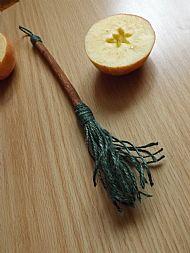 Cinnamon Altar Broom SOLD