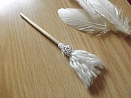 White Witch Broom