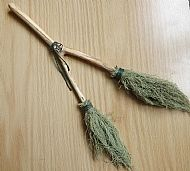 Double Trouble Witch Altar Broom