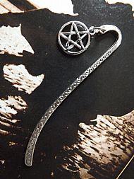 Silver Pentagram Bookmark