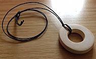 Birch Hollow Pendant Necklace