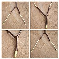 Hazel Dowsing Rod - Witching divination readers dowsers witch wiccan pagan shaman druid spirituality Tools
