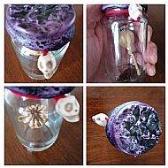 Poppy Pod Witch Bottle