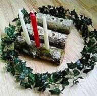 Birch Wood Yule Log SOLD