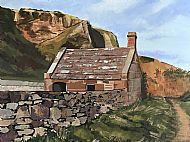 Ann Morphy, The Netherkirk, St Cyrus SOLD