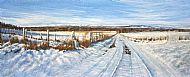 David E Johnston RSW, Garvock Snowline SOLD