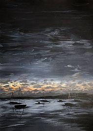 Hazel Irvine B. Des,  Nightfall SOLD