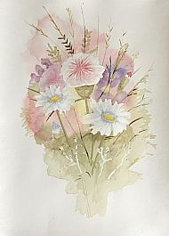 Kathleen Murray, Floral Bouquet SOLD