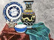 Kathleen Murray, Granny's Vase SOLD