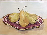 Lesley Adamson, Still Life with Pears
