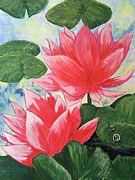 Margaret-Anne Mackie, Water Lillies