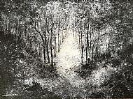 Nancy Galashan, Light on a Dark Day SOLD