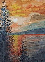 Sybil Dickson, Evening Glow