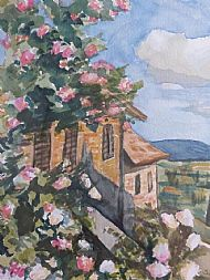 Susie Smith, Roses in Tuscany SOLD