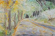 Judith Scurfield Wells, Autumn Avenue