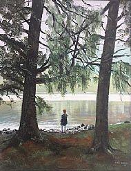 Trees on Loch Muick