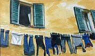Susie Smith, Italian Washing Line