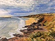 Susie Smith, St Cyrus Cliffs