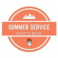 Summer Service Snowboard and Skis