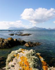 Cuillins from Dalavil