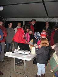 Opening the moth trap