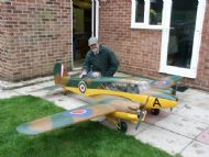 Sid King and his Anson