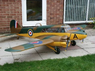 here is a preview of sid king's new avro anson.