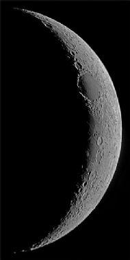 Crescent Moon - Mare Crisium