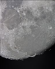 Mare Imbrium Region of the Moon