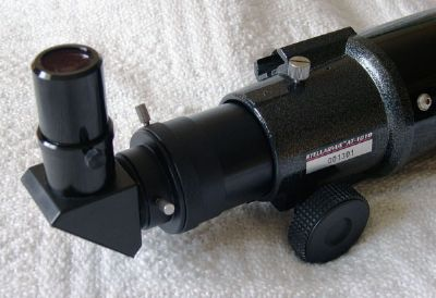 stellarvue fitted with 1.25 inch diagonal