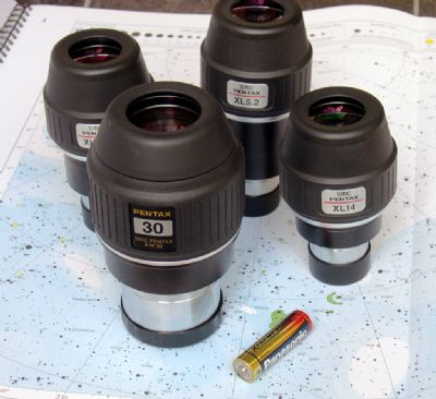 xw30 and other pentax eyepieces