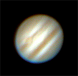 Jupiter's Great Red Spot 23/04/05 - Eric Walker