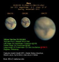 mars imaged through a televue 102mm refractor. courtesy ron b(ee), usa