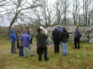 ...before venturing up to clava itself to brave the cold!
