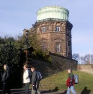 members head into the historic observatory