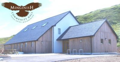 minginish community hall at portnalong on skye
