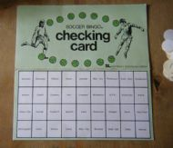 Checking card