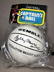 Bobby Moore Wembley football