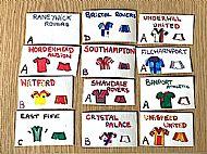 Home made teams and kits