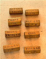 Brass hexagonal dice