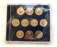 Barcelona trophy coins