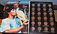 Italia 90 medals folder