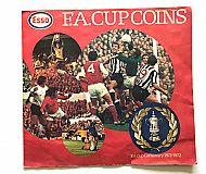 ESSO FA Cup red folder
