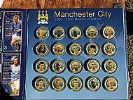 Man City medallions 05/6