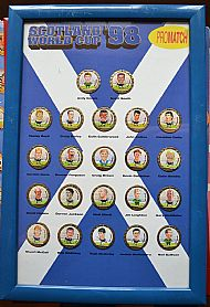 Scotland world cup 98 Promatch set