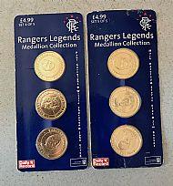 Rangers coin strips