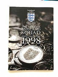 Sainsbury England squad 1998