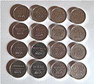 Kaufring WM74 coins (loose)